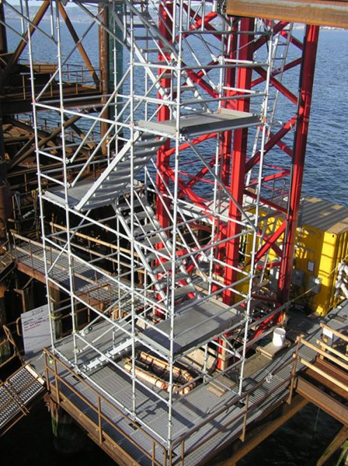 Stretcher Stair Access Scaffold Victoria Scaffolding