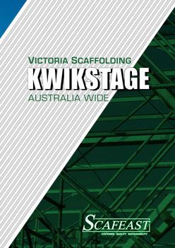 Kwikstage Scaffolding Catalogue